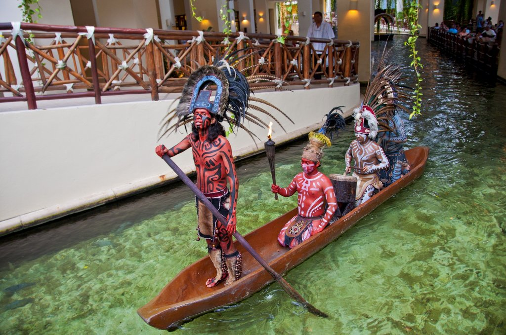 Occidental At Xcaret Destination - Xcaret Lobby Area Mayan Show <br/>Image from Leonardo
