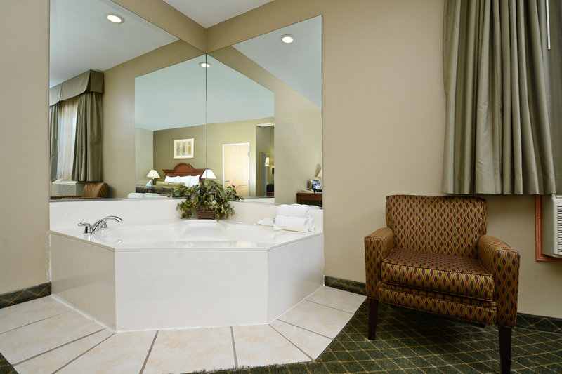 Best Western Plus Tulsa Inn  Suites-Guest Room with Hot Tub<br/>Image from Leonardo