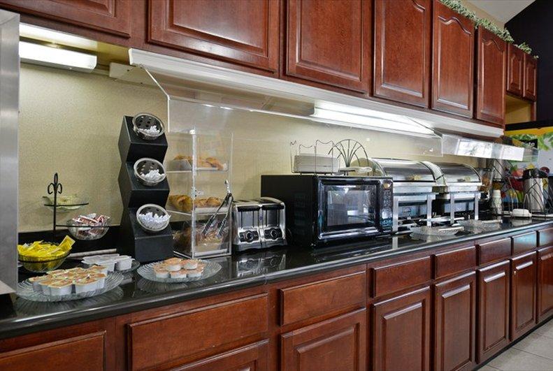 Best Western Plus Tulsa Inn  Suites-Breakfast Counter<br/>Image from Leonardo