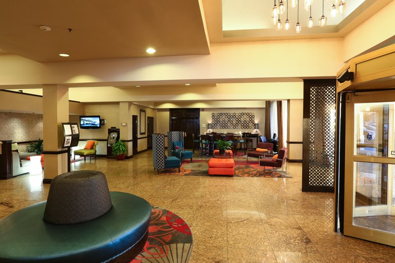 Crowne Plaza Oklahoma City-CPOKC Lobby<br/>Image from Leonardo