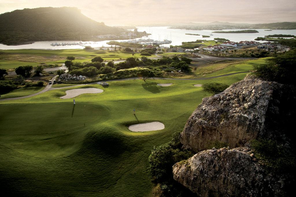 Santa Barbara Beach & Golf Rst - Golf Hole No 13 <br/>Image from Leonardo