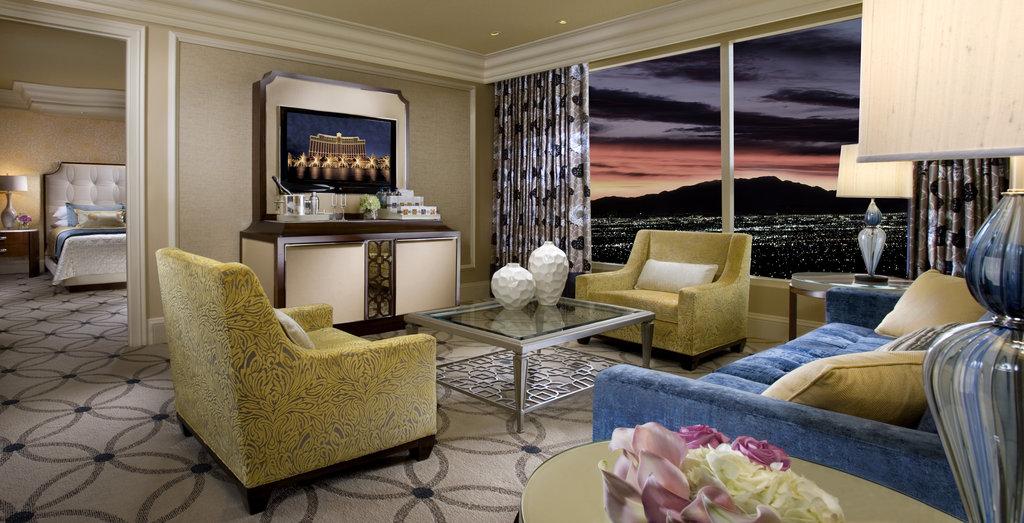 Bellagio - Bellagio Suite Living Room <br/>Image from Leonardo