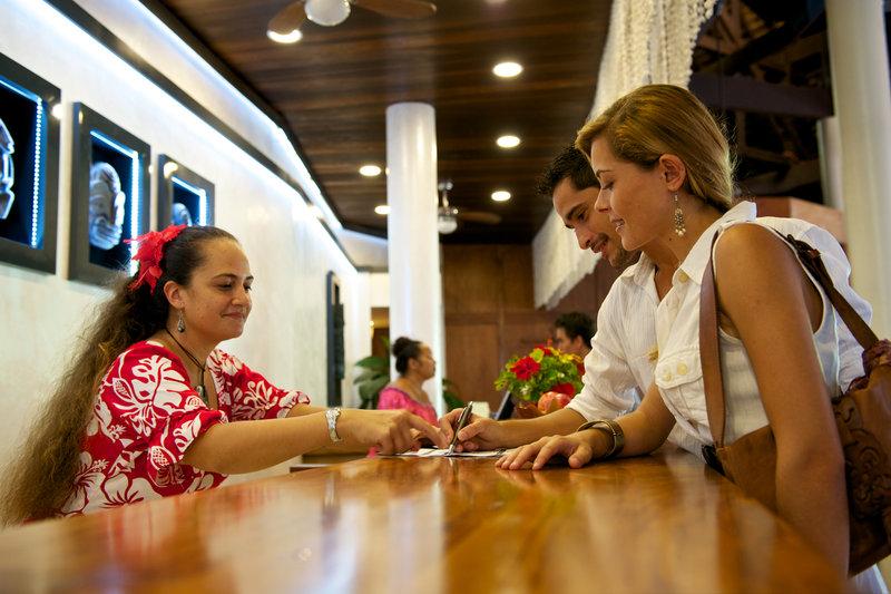 Intercontinental Moorea Resort-Hotel Lobby<br/>Image from Leonardo