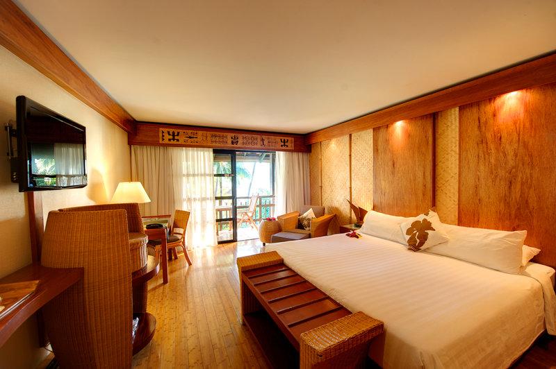 Intercontinental Moorea Resort-King Bed Guest Room<br/>Image from Leonardo
