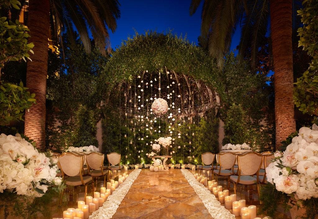 Wynn Las Vegas - Wynn - Weddings Primrose Courtyard <br/>Image from Leonardo