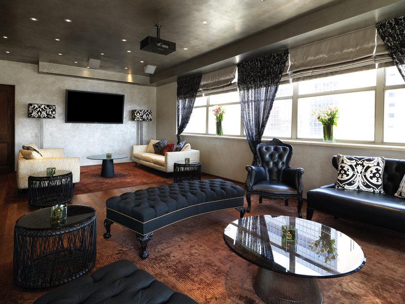 Kimberly Midtown Apartments-Upstairs VIP Room at The Kimberly Hotel<br/>Image from Leonardo