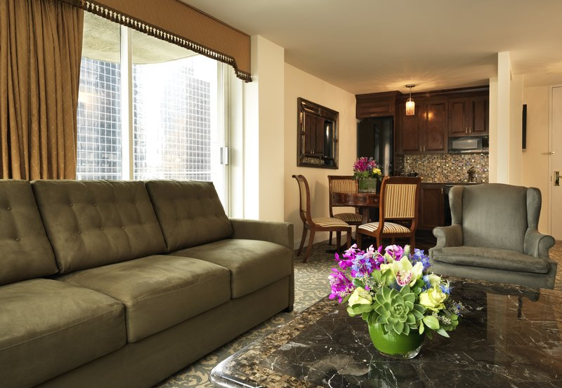 Kimberly Midtown Apartments-29A Luxury one-bedroom at The Kimberly Hotel <br/>Image from Leonardo