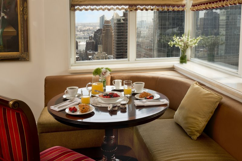 Kimberly Midtown Apartments-Suite 30B Breakfast-nook at The Kimberly Hotel <br/>Image from Leonardo