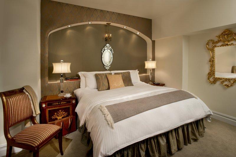 Kimberly Midtown Apartments-Luxury Bedroom at The Kimberly Hotel New York<br/>Image from Leonardo