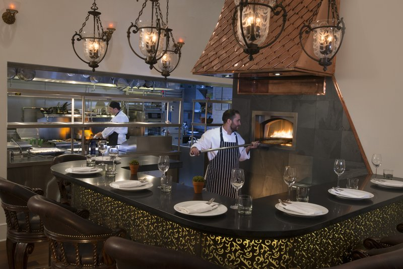 Kimberly Midtown Apartments-Bistango's Pizza bar at The Kimberly Hotel <br/>Image from Leonardo