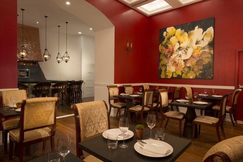 Kimberly Midtown Apartments-Bistango Dining Room at The Kimberly Hotel<br/>Image from Leonardo