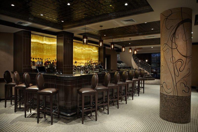Kimberly Midtown Apartments-Empir Restaurant - Bar area at The Kimberly Hotel<br/>Image from Leonardo