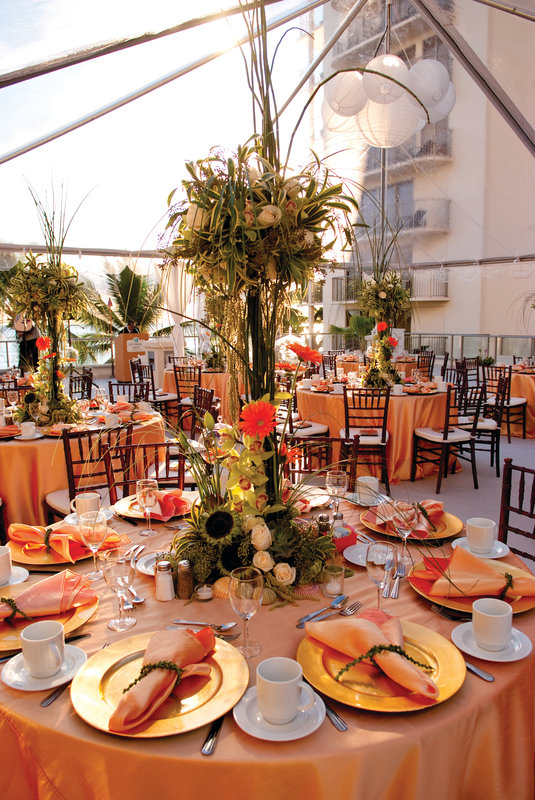 Outrigger Reef Waikiki Beach Resort - Outrigger Reef Waikiki Beach Resort - banquet wedding 1  <br/>Image from Leonardo