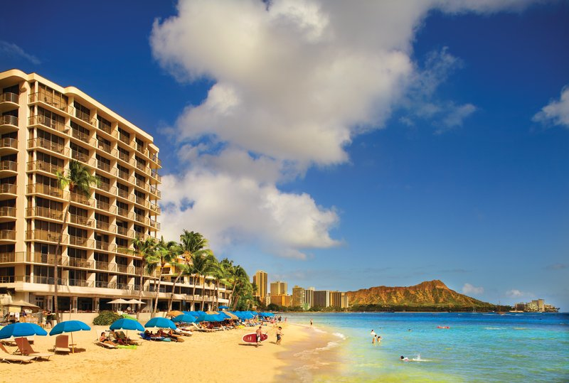 Outrigger Reef Waikiki Beach Resort - Outrigger Reef Waikiki Beach Resort - exterior - hero 2 <br/>Image from Leonardo