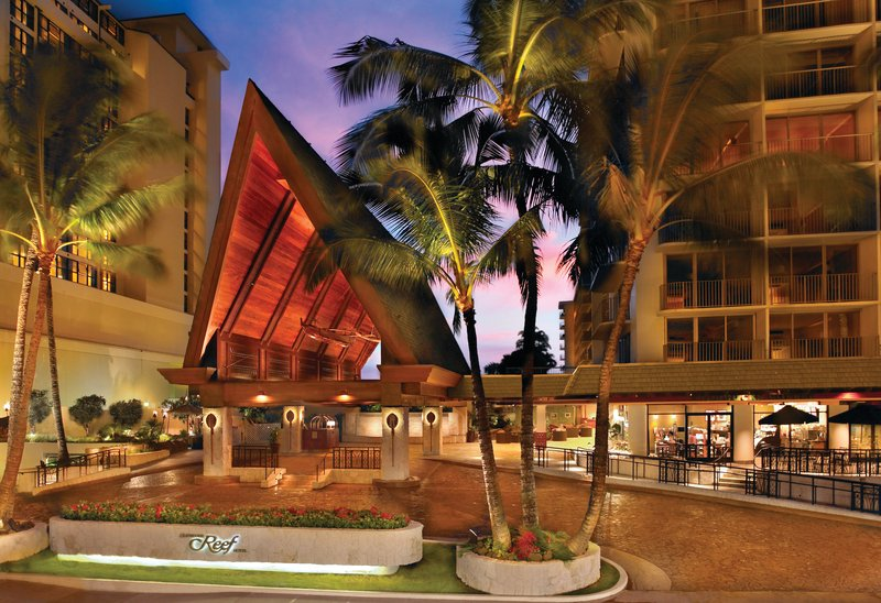 Outrigger Reef Waikiki Beach Resort - Outrigger Reef Waikiki Beach Resort - exterior - hero port cochere <br/>Image from Leonardo