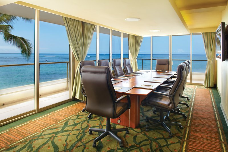 Outrigger Reef Waikiki Beach Resort - Outrigger Reef Waikiki Beach Resort - interior - meetings boardroom 1 <br/>Image from Leonardo