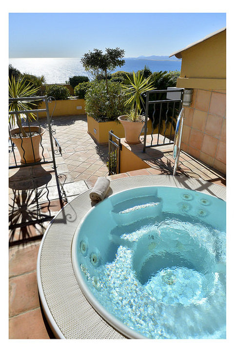 La Perouse Hotel-Rooftop's Terrace with Jacuzzi<br/>Image from Leonardo
