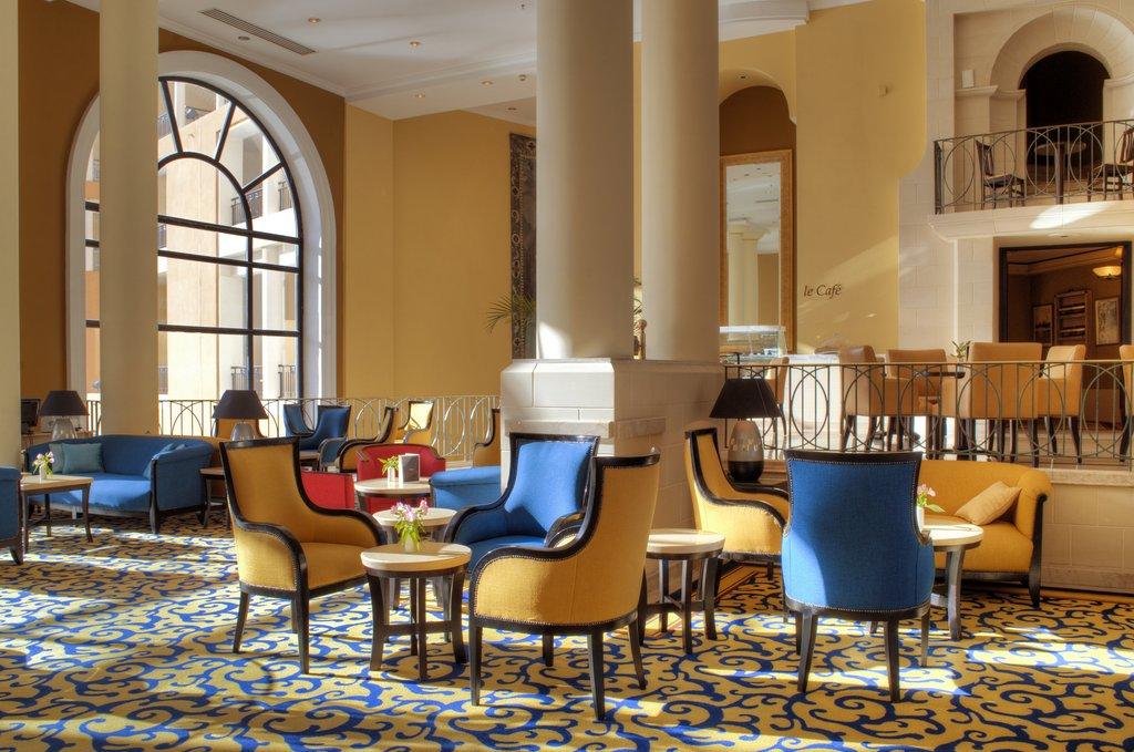 Corinthia Hotel St. George's Bay-Corinthia Lobby<br/>Image from Leonardo
