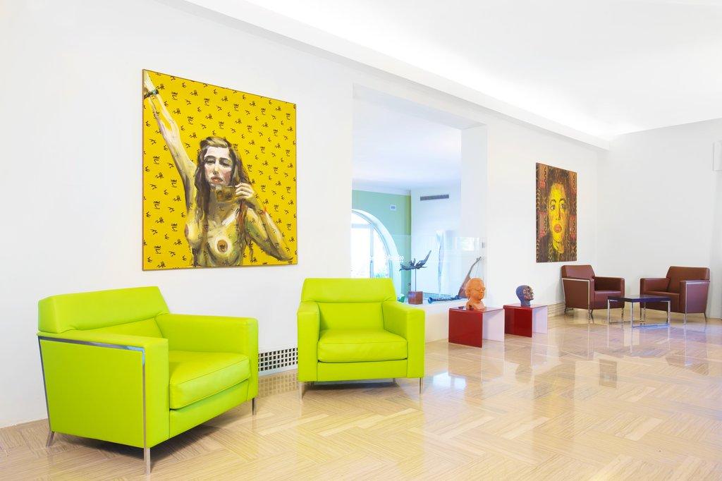 Art Hotel Gran Paradiso - Lobby <br/>Image from Leonardo