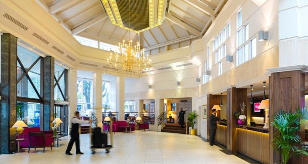 Clayton Hotel Ballsbridge - Lobby <br/>Image from Leonardo