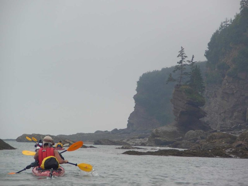 Hilton Saint John-Kayaking with Red Rock Adventures St Martins<br/>Image from Leonardo