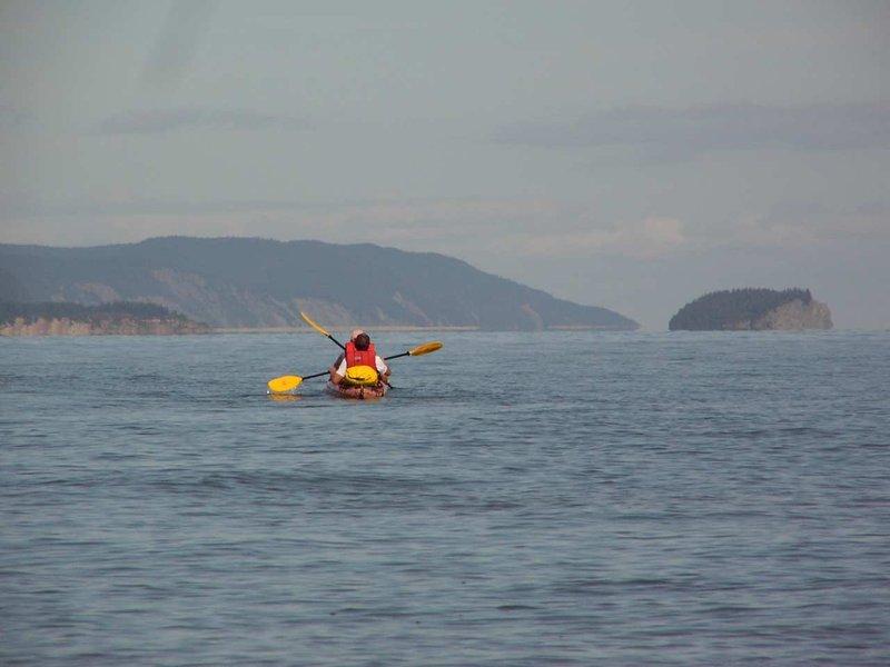 Hilton Saint John-Kayaking on the Bay of Fundy at St Martins<br/>Image from Leonardo