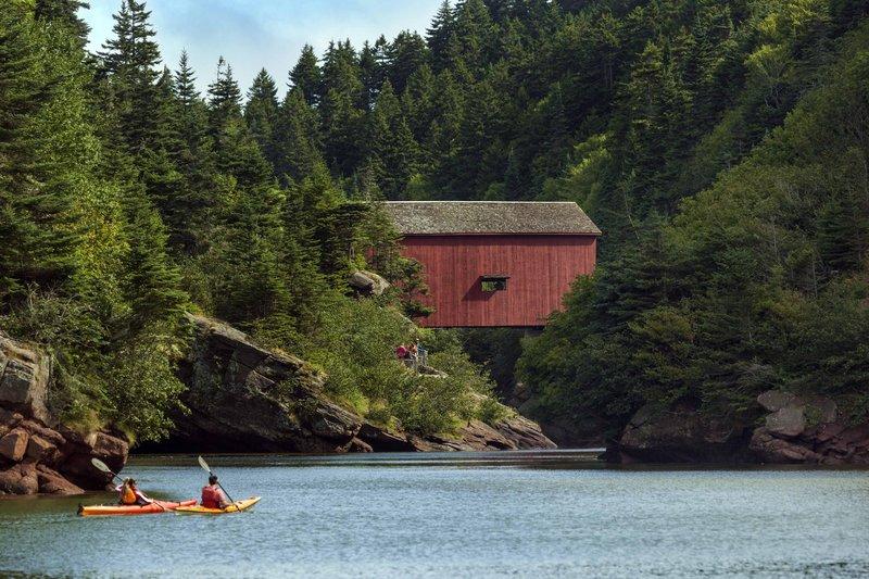 Hilton Saint John Trade &amp; Convention Centre-Kayaking at National Park<br/>Image from Leonardo