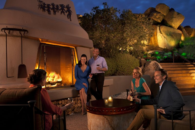 Boulders Resort & Spa, Curio Collection by Hilton-Lodge Pool Fireplace<br/>Image from Leonardo