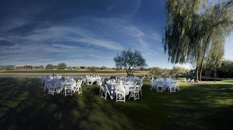 Boulders Resort & Spa, Curio Collection by Hilton-Outdoor Wedding Setup<br/>Image from Leonardo
