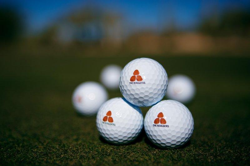 Boulders Resort & Spa, Curio Collection by Hilton-Golf Balls<br/>Image from Leonardo