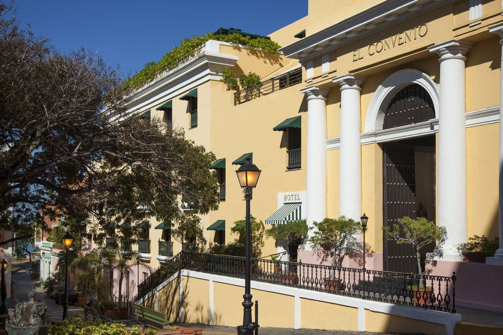 Hotel El Convento - Hotel Front <br/>Image from Leonardo