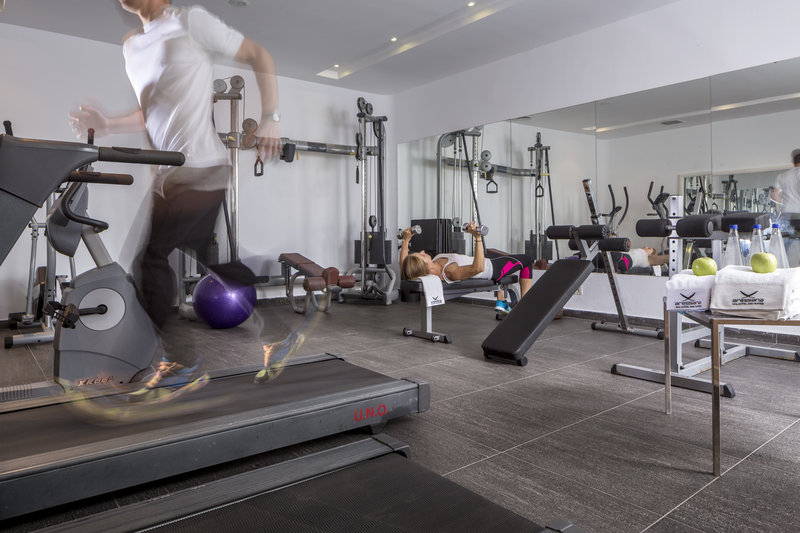 Aressana Spa Hotel & Suites-Exercise Room<br/>Image from Leonardo