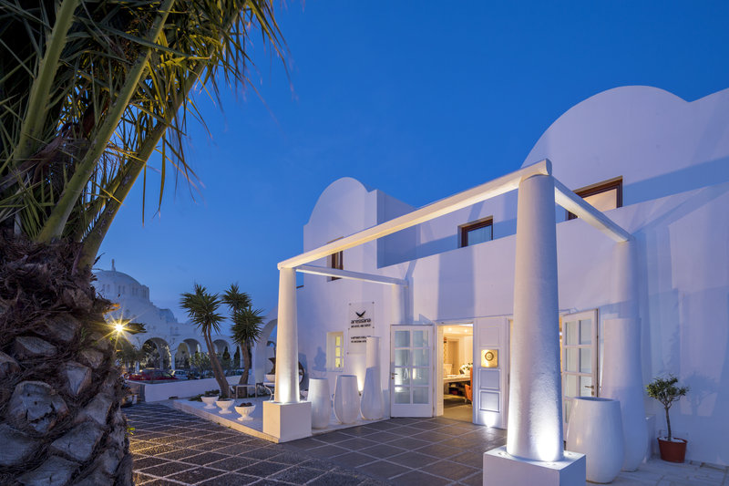 Aressana Spa Hotel & Suites-Hotel Entrance Afternoon<br/>Image from Leonardo