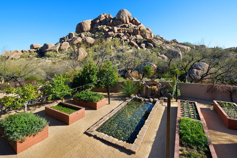Boulders Resort & Spa, Curio Collection by Hilton-Organic Garden<br/>Image from Leonardo