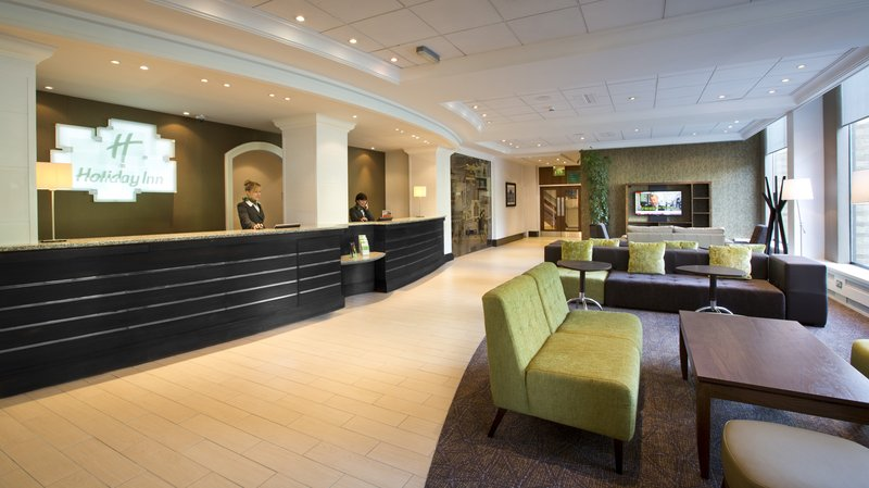 Holiday Inn Peterborough West-Reception<br/>Image from Leonardo