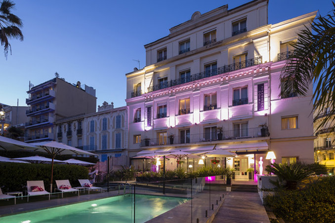 Hotel Canberra Cannes-Exterior<br/>Image from Leonardo