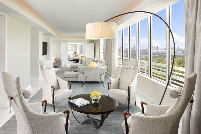 Fontainebleau Miami Beach - La Baie Presidential Living <br/>Image from Leonardo