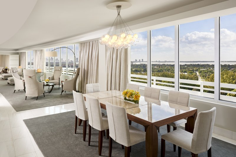 Fontainebleau Miami Beach - La Baie Presidential Dining <br/>Image from Leonardo