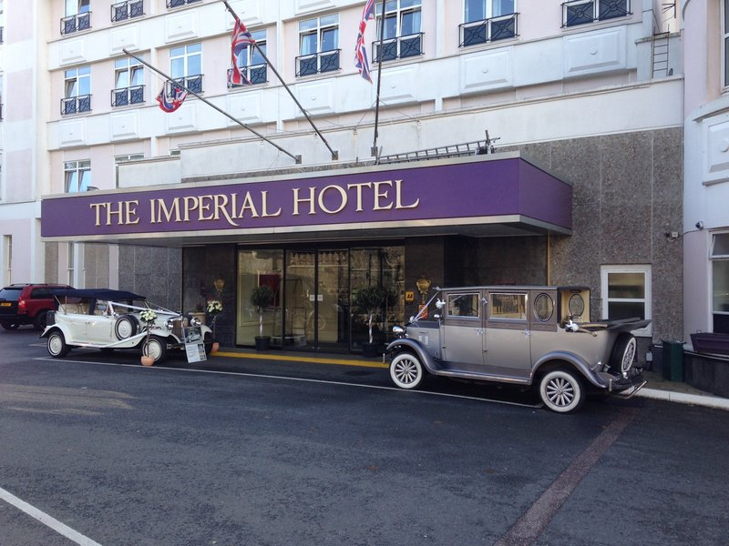 Imperial Hotel Blackpool-Wedding Fayre Front Of Hotel<br/>Image from Leonardo