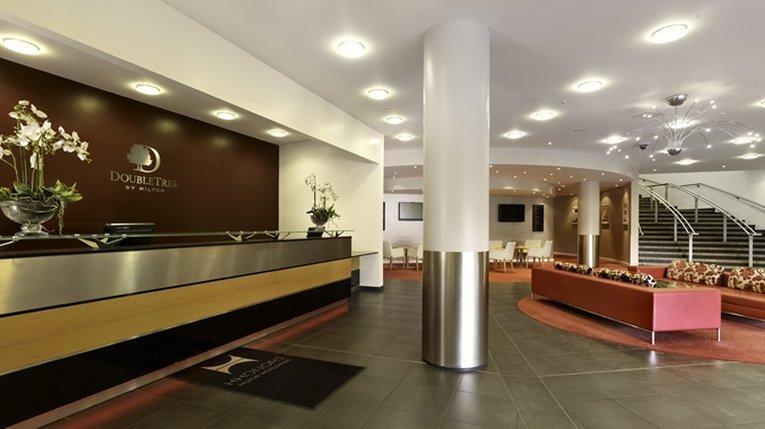 DoubleTree by Hilton Milton Keynes-DoubleTree Reception<br/>Image from Leonardo