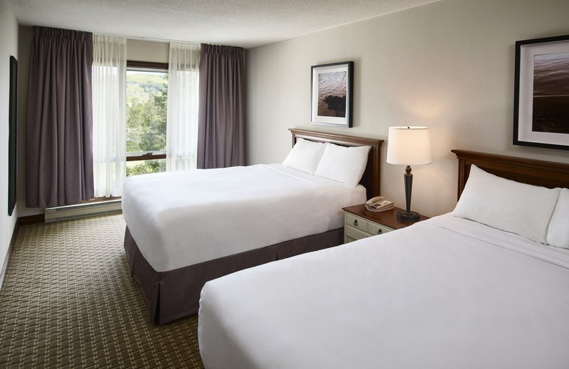 Deerhurst Resort-Condo Guest Bedroom Two Queens<br/>Image from Leonardo