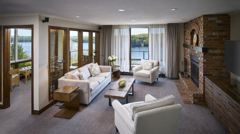Deerhurst Resort-Large Condo Living Room (styles & views vary)<br/>Image from Leonardo