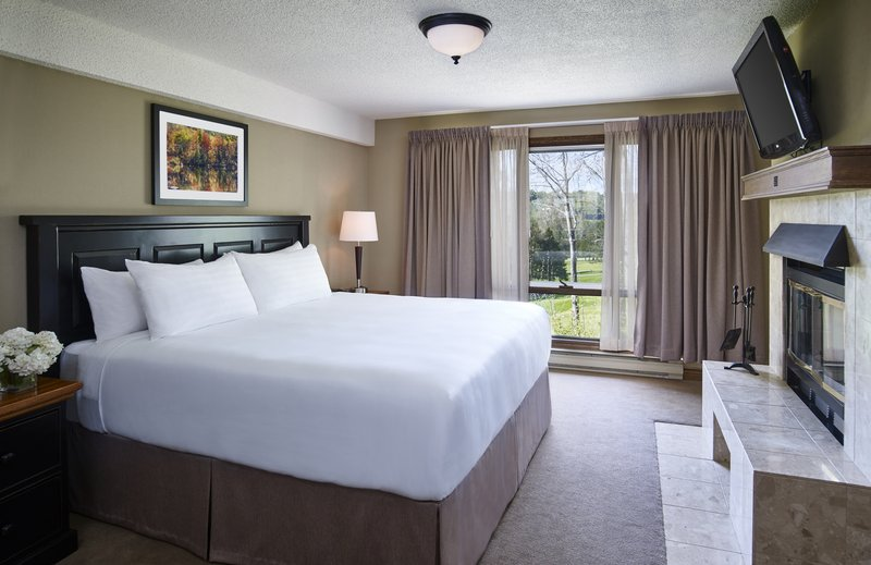 Deerhurst Resort-Large Condo Master Bedroom (styles vary)<br/>Image from Leonardo