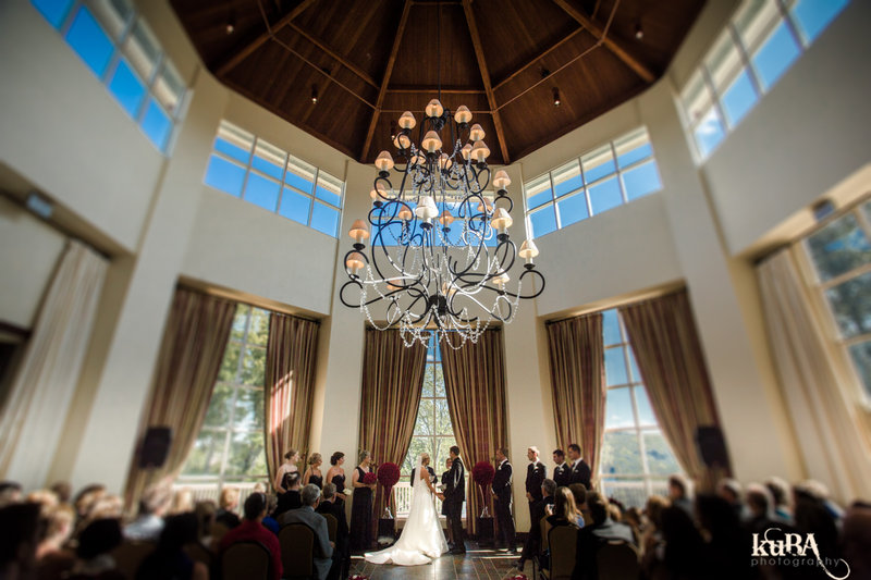 Deerhurst Resort-Wedding in Rotunda<br/>Image from Leonardo