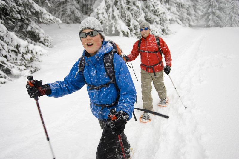 Deerhurst Resort-Snowshoeing<br/>Image from Leonardo