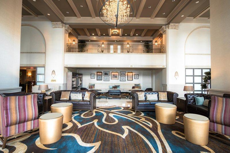Hilton Baton Rouge Capitol Center-Lobby Area<br/>Image from Leonardo
