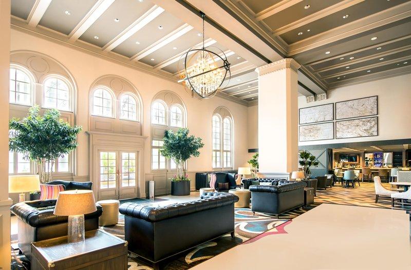 Hilton Baton Rouge Capitol Center-Lobby Area, OverView<br/>Image from Leonardo