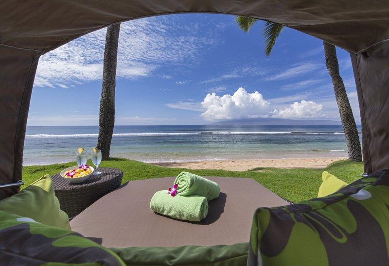 Hyatt Regency Maui Resort - Hyatt Regency Maui Resort & Spa –  Private Cabana <br/>Image from Leonardo