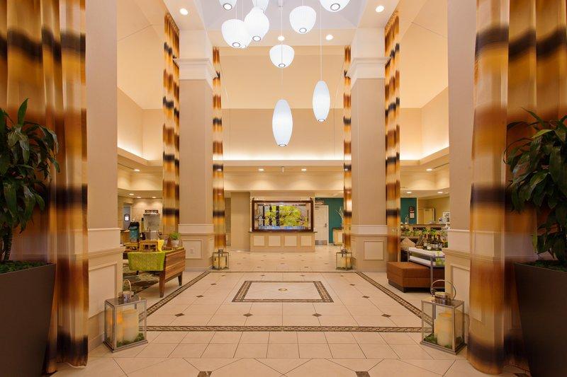 Hilton Garden Inn San Bernardino-Hotel Lobby<br/>Image from Leonardo