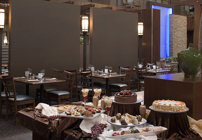 Delta Hotel Calgary South-Atrium Cafe and Skylight Lounge - Desserts<br/>Image from Leonardo